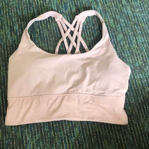 Pink Forever 21 sports bra